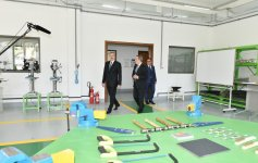 President Ilham Aliyev inaugurates Baku State Vocational Education Centre on Industry and Innovation (PHOTO) - Gallery Thumbnail
