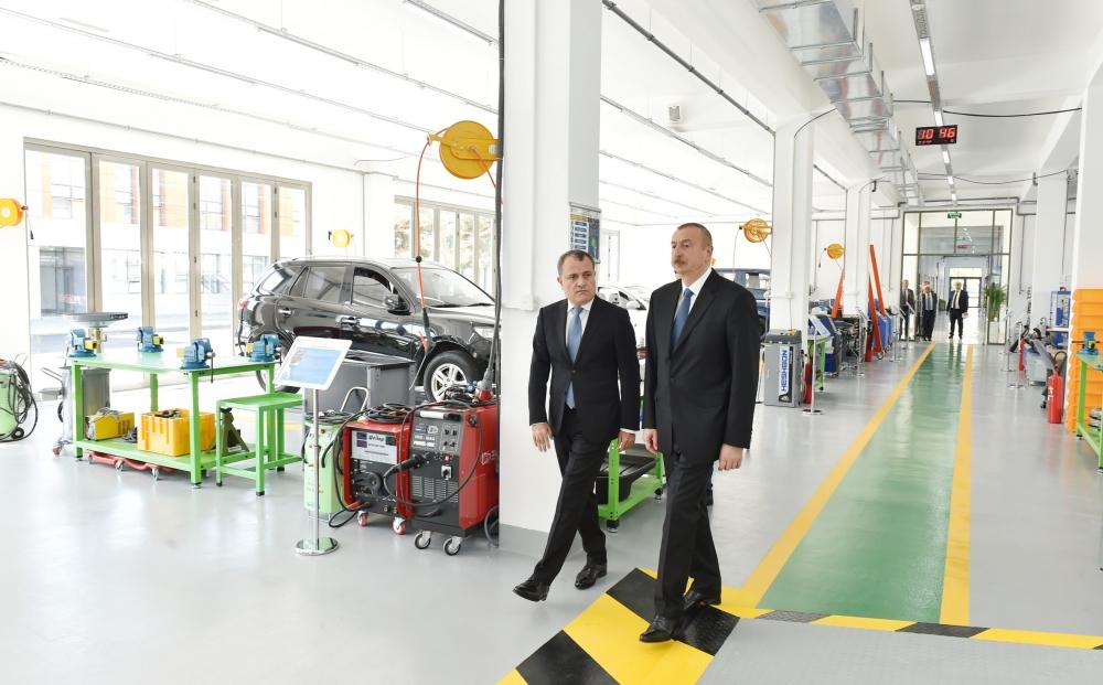 President Ilham Aliyev inaugurates Baku State Vocational Education Centre on Industry and Innovation (PHOTO)