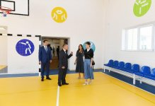 First Vice-President Mehriban Aliyeva attended opening of Malikchobanli village secondary school (PHOTO) - Gallery Thumbnail
