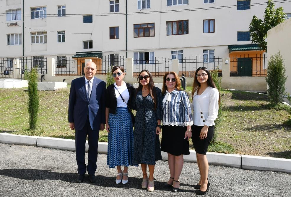 First Vice-President Mehriban Aliyeva attended opening of kindergarten in Ismayilli - Gallery Image