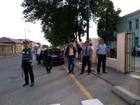 İlk dərs günü Quba polisi təhlükəsizliyi tam təmin edib (FOTO) - Gallery Thumbnail