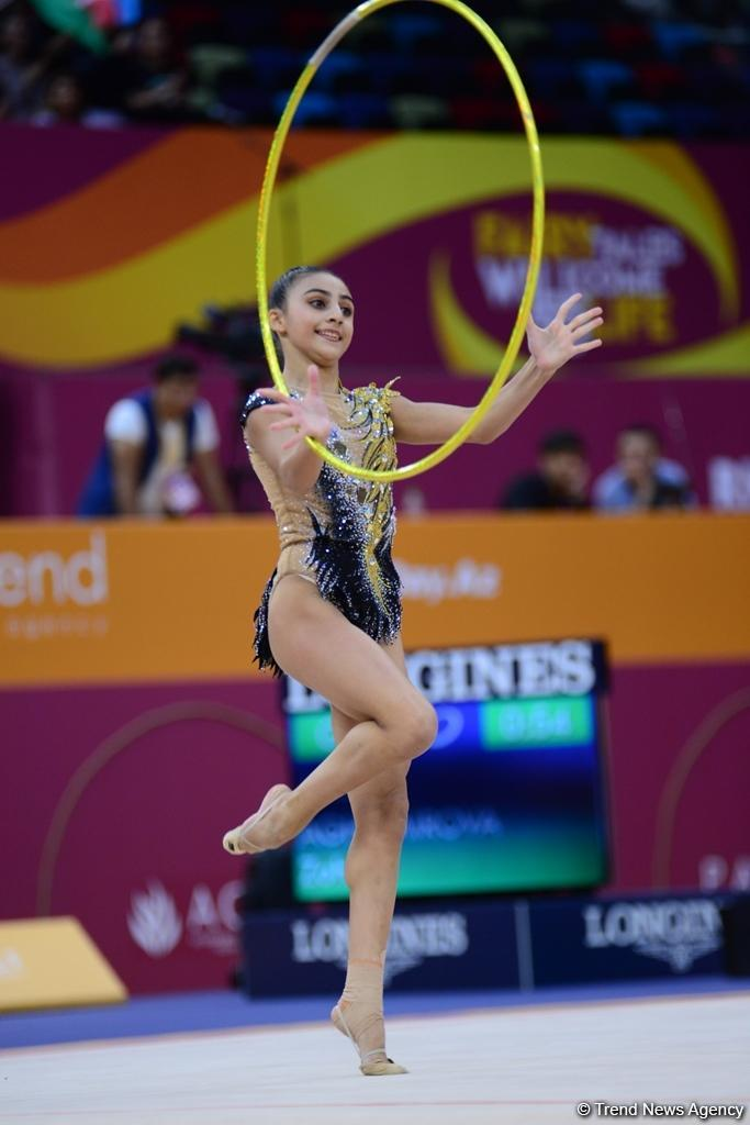 Performance results of Azerbaijani gymnasts at World Championships in Baku (PHOTO) - Gallery Image