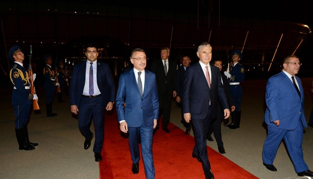 Turkish Vice President completes official visit to Azerbaijan