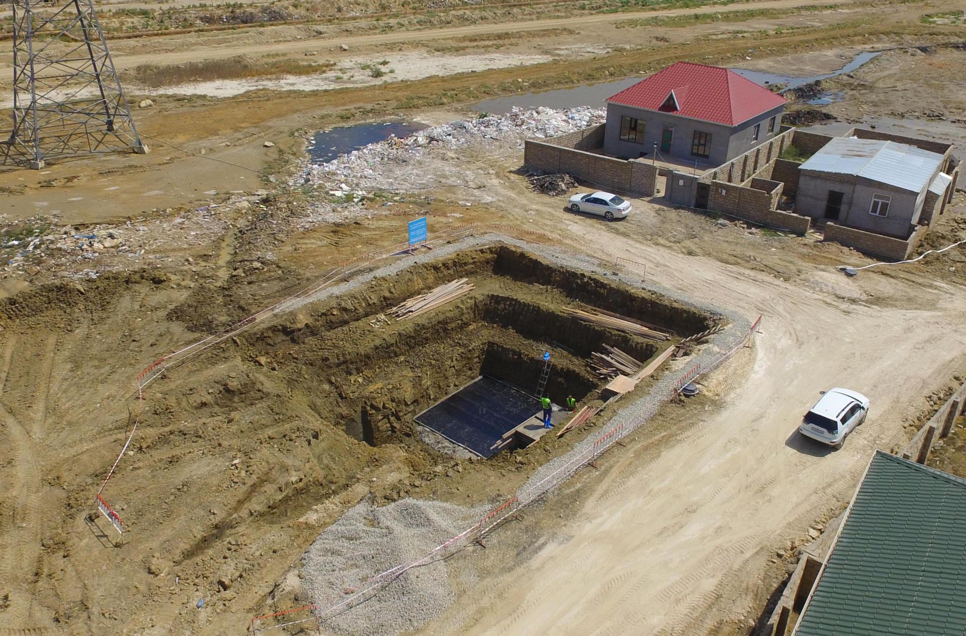 В пригородных поселках Баку в связи с угрозой затопления начаты дренажные работы (ФОТО) - Gallery Image