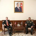Azerbaijan's defense minister meets newly appointed UK ambassador (PHOTO) - Gallery Thumbnail