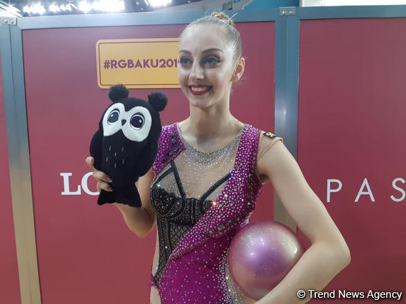 Bulgarian gymnast: I was very excited to perform today