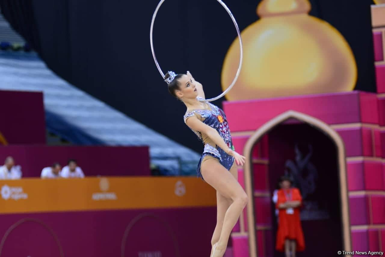 Russia's Selezneva grabs gold at Rhythmic Gymnastics World Championships in Baku (PHOTO) - Gallery Image