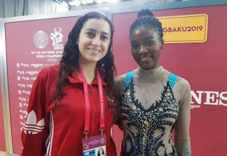 Angolan athlete: I'm honored to perform in National Gymnastics Arena in Baku