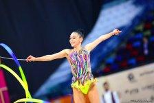 Bədii Gimnastika üzrə Dünya Çempionatının üçüncü günü Azərbaycan gimnastları üçün necə başa çatıb? (FOTO) - Gallery Thumbnail