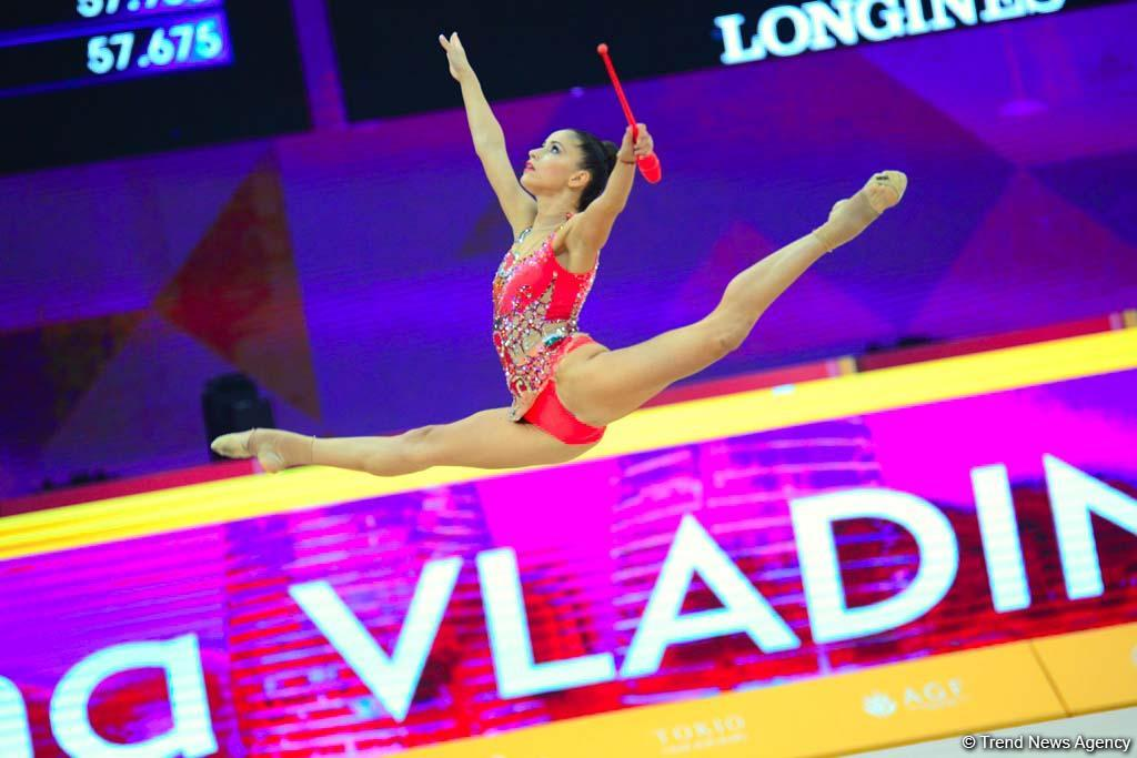 Competitions of 37th Rhythmic Gymnastics World Championships underway in Baku (PHOTO) - Gallery Image