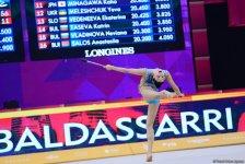 Bədii gimnastika üzrə 37-ci dünya çempionatının 4-cü günü start götürüb (FOTO) - Gallery Thumbnail