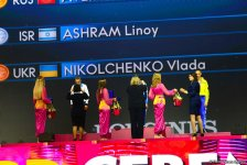 В Баку прошла церемония награждения победителей и призеров 37-го Чемпионата мира по художественной гимнастике (ФОТО) - Gallery Thumbnail