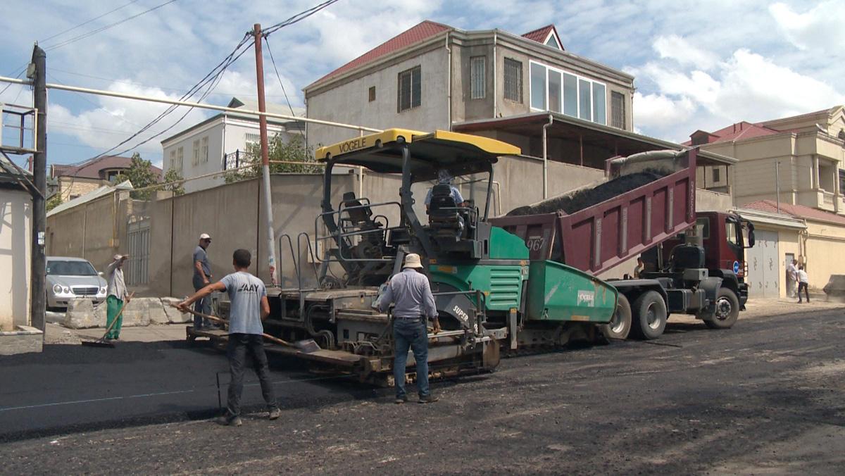 В Баку будут отремонтированы 11 улиц, автодвижение ограничится (ФОТО) - Gallery Image