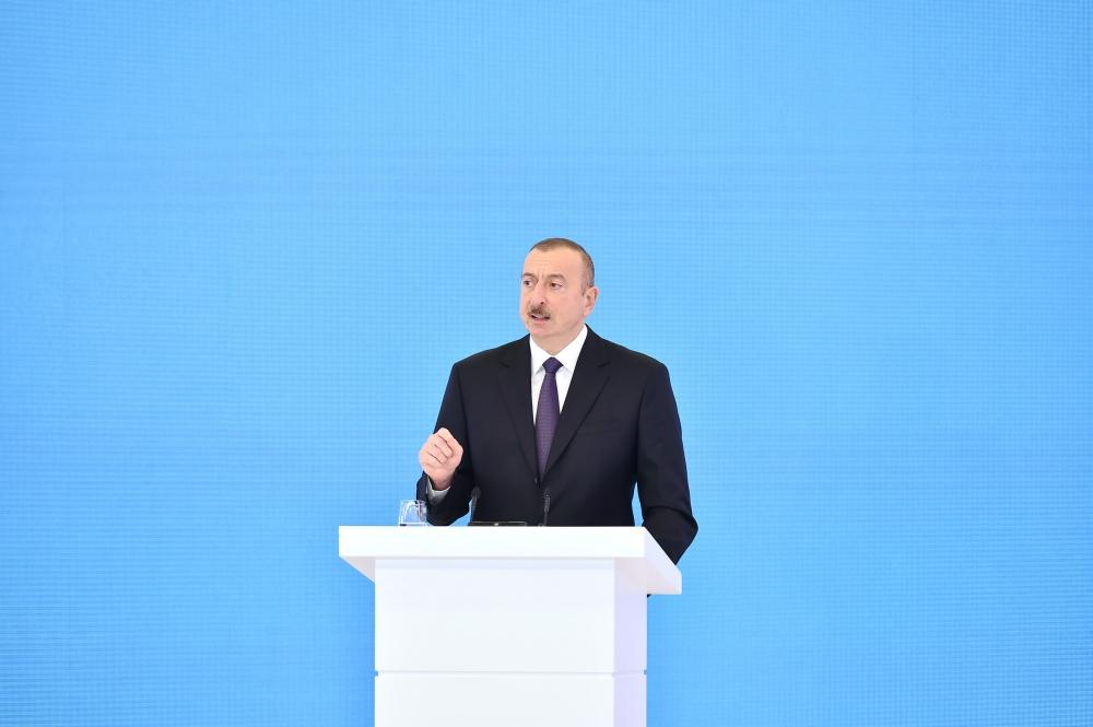 Azerbaijani president: Investments made in implementation of Contract of the Century paid off in full
