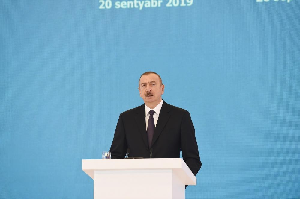 Azerbaijani president: Oil and gas are exhaustible resources, while intellectual potential is unchanging wealth