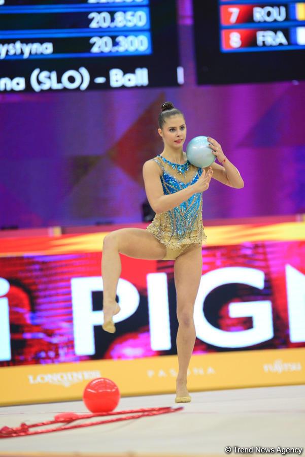 В Баку стартовал финал многоборья Чемпионата мира по художественной гимнастике (ФОТО) - Gallery Image
