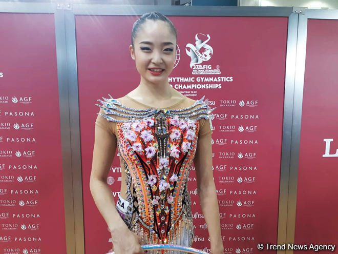 Japanese gymnast in Baku: World Championships very important competition