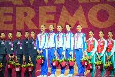Awarding ceremony of winners of 37th Rhythmic Gymnastics World Championships held in Baku (PHOTO) - Gallery Thumbnail