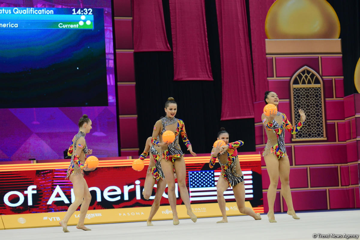 Day 6 of competitions in 37th Rhythmic Gymnastics World Championships kicks off in Baku (PHOTO) - Gallery Image