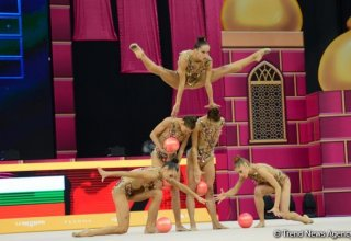 Final day of World Championships competitions kicks off in Baku's National Gymnastics Arena (PHOTO)