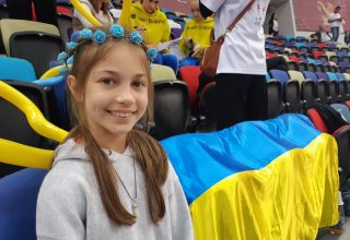 Young spectator from Dubai: Atmosphere in stands in Baku is amazing