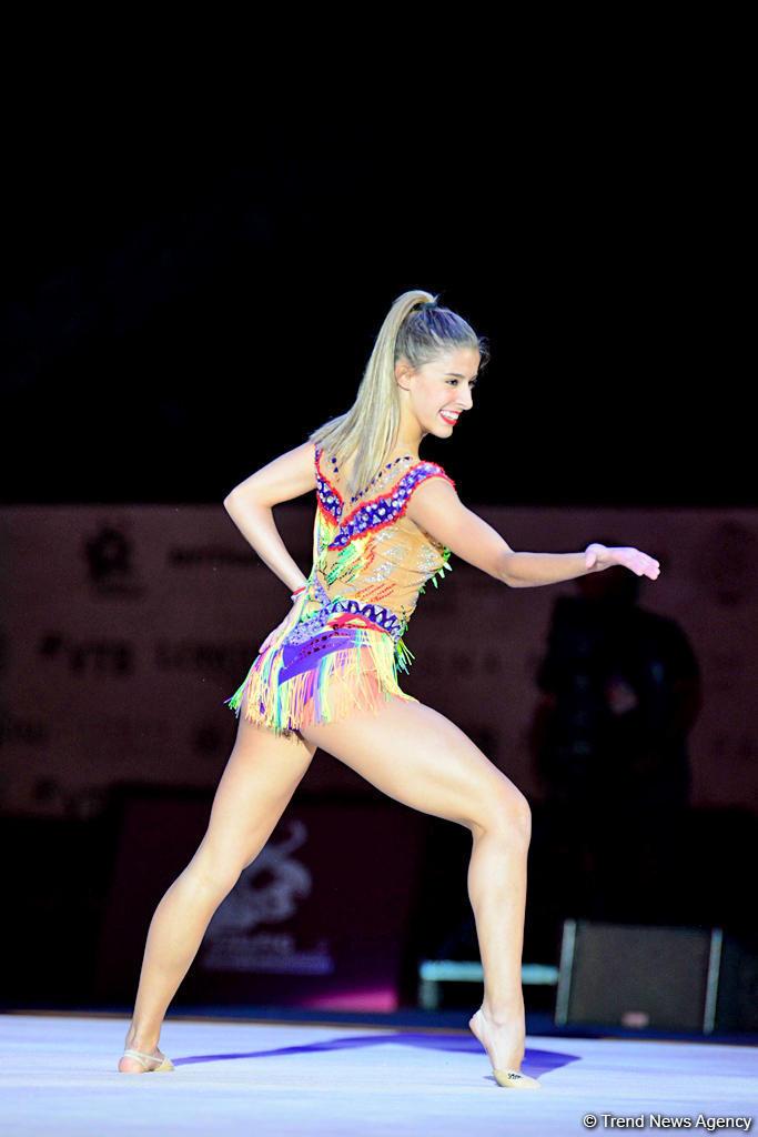 Грандиозная церемония закрытия 37-го Чемпионата мира по художественной гимнастике в Баку (ВИДЕО, ФОТО) - Gallery Image