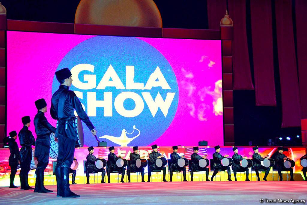 Красочная церемония закрытия Чемпионата мира по художественной гимнастике в Баку (ВИДЕО, ФОТО) - Gallery Image