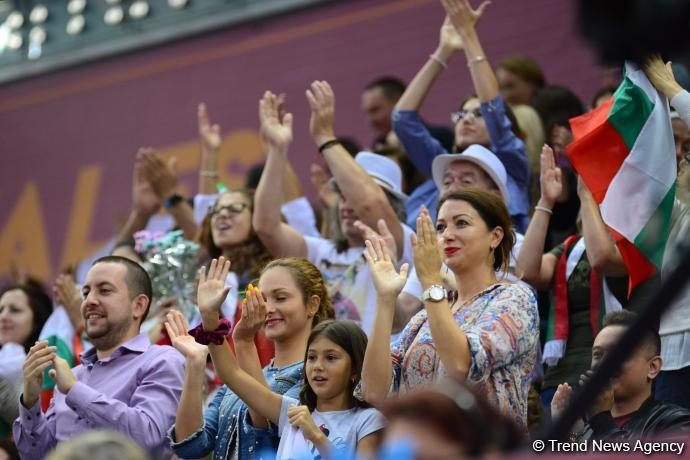 Final day of World Championships competitions kicks off in Baku's National Gymnastics Arena (PHOTO) - Gallery Image