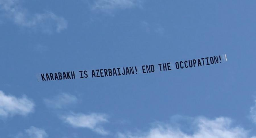 Truth on Karabakh in skies and streets of Los Angeles (VIDEO)