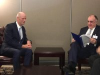 Azerbaijani FM meets with Netherlands' counterpart (PHOTO) - Gallery Thumbnail