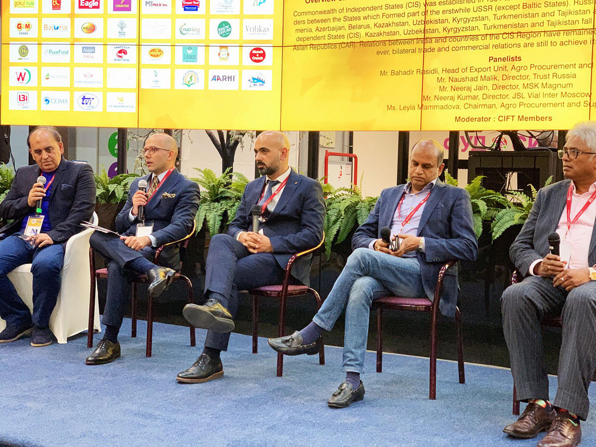 Azerbaijan takes part in forum of Indian food producers (PHOTO) - Gallery Image