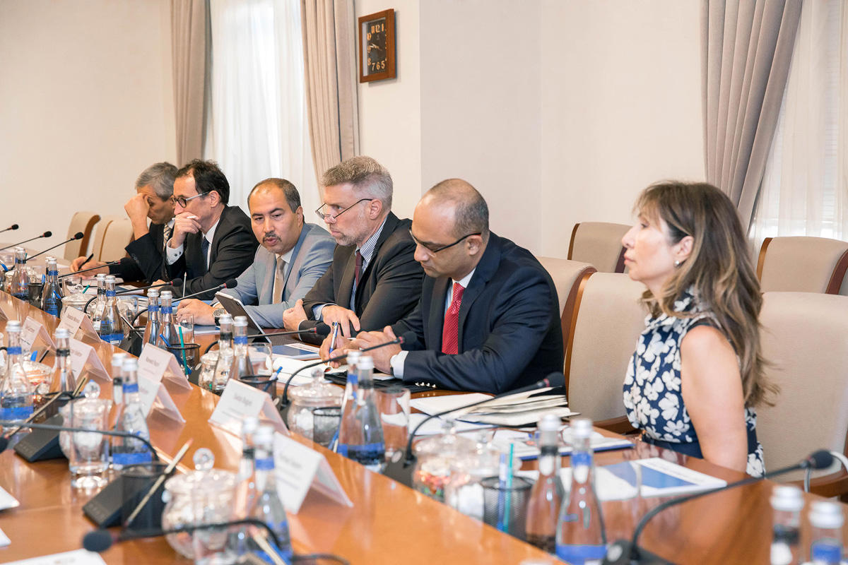 Azerbaijan Railways, WB discuss co-op prospects and priorities (PHOTO) - Gallery Image