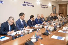 Azerbaijan Railways, WB discuss co-op prospects and priorities (PHOTO) - Gallery Thumbnail