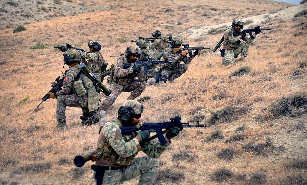 Fire exercises completed in Caucasian Eagle - 2019 military exercises (PHOTO/VIDEO) - Gallery Image