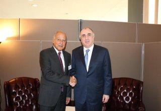 Эльмар Мамедъяров встретился с генеральным секретарем Лиги арабских государств