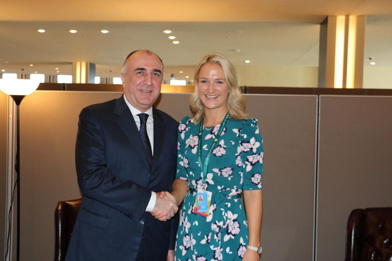 Azerbaijani FM meets with Minister for European Affairs of Ireland (PHOTO) - Gallery Image
