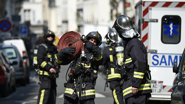 Five people killed in building fire in northeast France