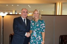 Azerbaijani FM meets with Minister for European Affairs of Ireland (PHOTO) - Gallery Thumbnail