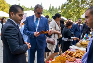 Trade fair of products of SME entities held in Azerbaijan's Naftalan city (PHOTO)