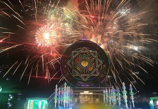 Ashgabat hosts final concert in honor of Independence Day (PHOTO)