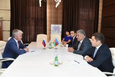 Azerbaijani Minister of Youth and Sports meets Russian counterpart (PHOTO) - Gallery Thumbnail