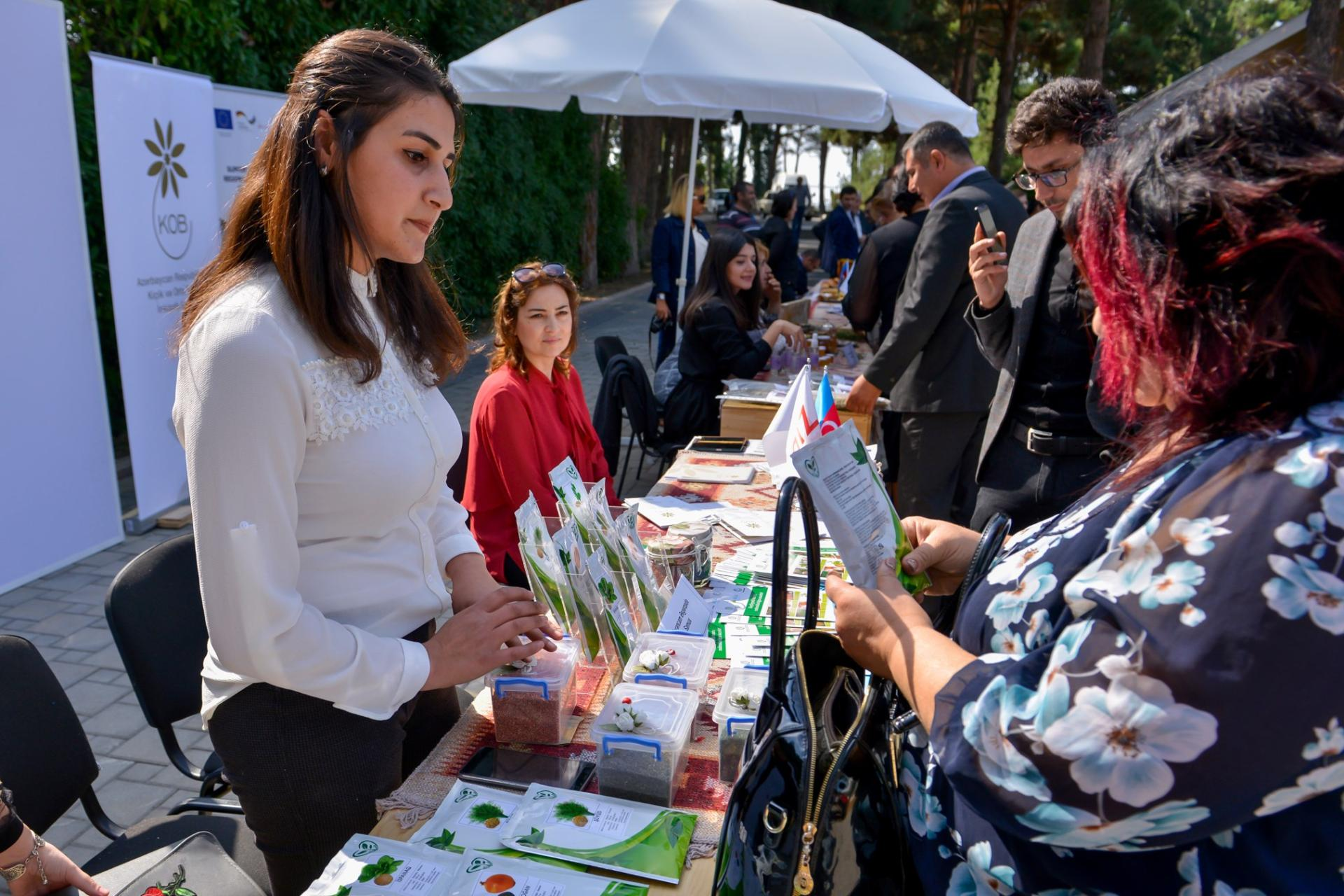 Trade fair of products of SME entities held in Azerbaijan's Naftalan city (PHOTO) - Gallery Image