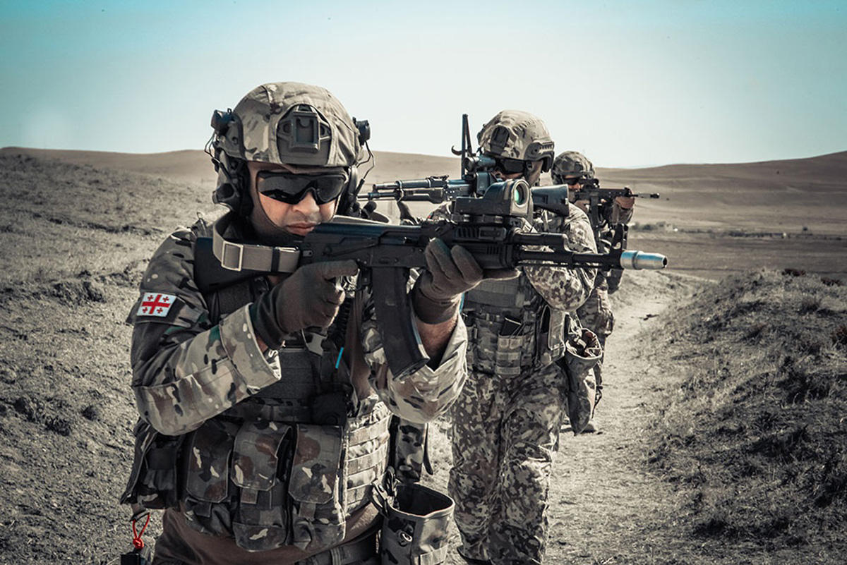 Next stage of Caucasian Eagle - 2019 exercises held in Azerbaijan (PHOTO) - Gallery Image