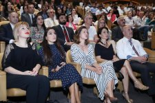 VP of Heydar Aliyev Foundation Leyla Aliyeva attends lecture of Russian scientist Alexey Sitnikov at International Mugham Center(PHOTO) - Gallery Thumbnail
