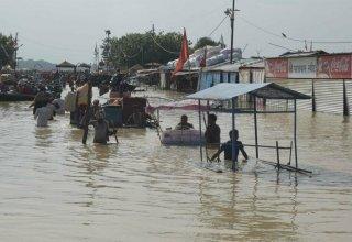 В Индии из-за наводнений и оползней погибли почти 130 человек