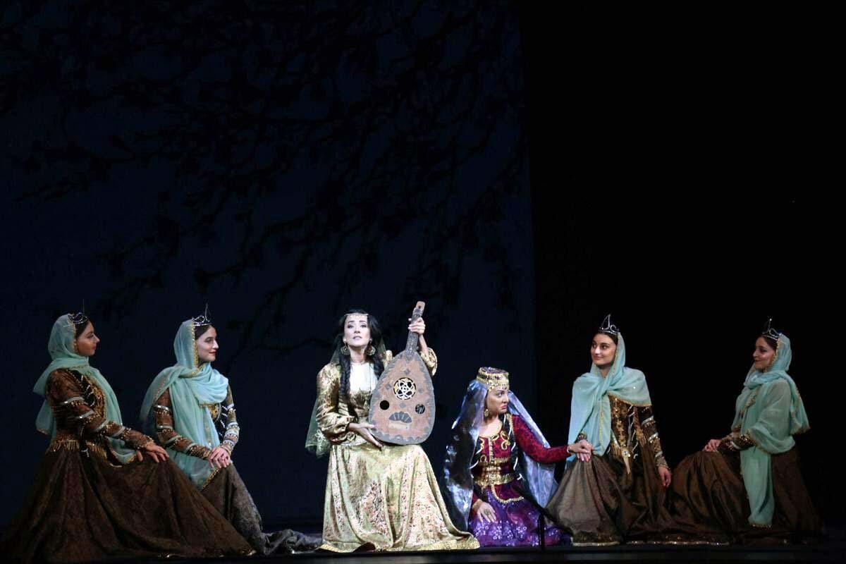 """Такого еще не было! Потрясающая премьера грандиозной оперы """"Мехсети"""" с 3D оформлением в Баку (ВИДЕО, ФОТО) - Gallery Image"""