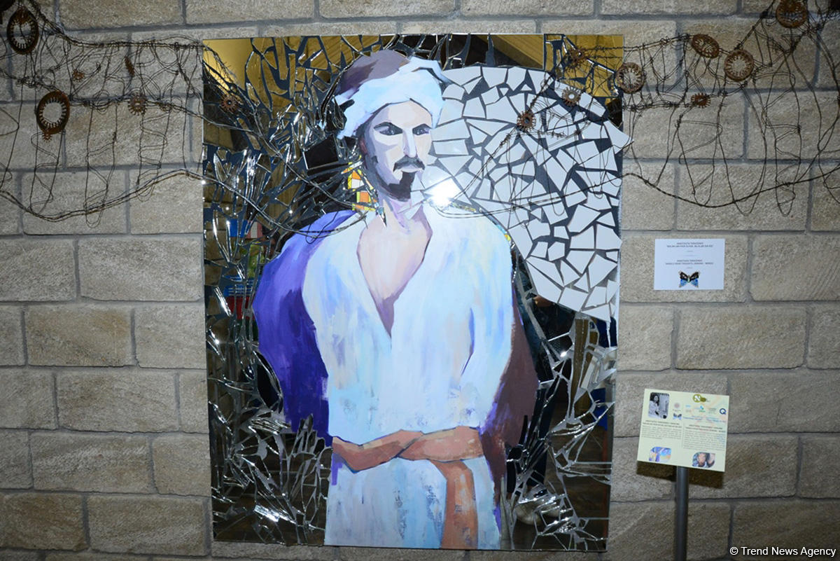 "Works of 8th International Exhibition ""From Waste to Art"" showcased at Nasimi Festival (PHOTO) - Gallery Image"