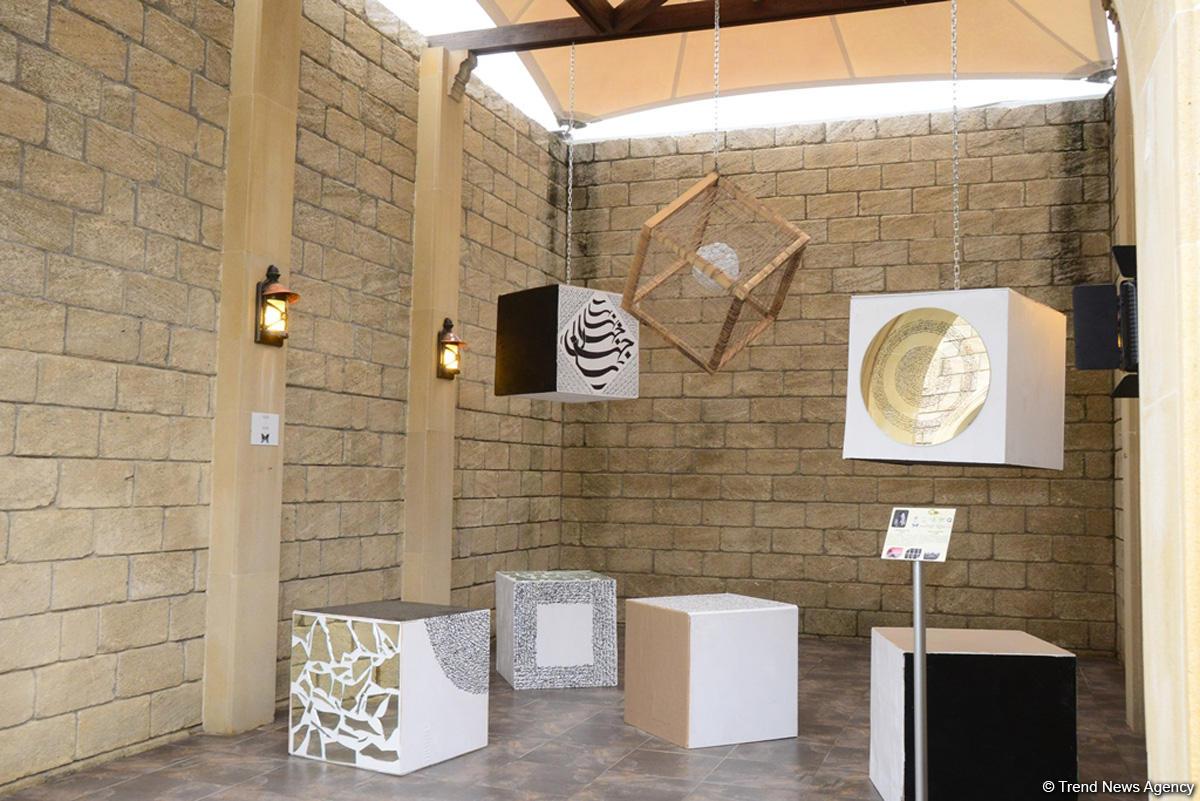 В рамках Фестиваля Насими представлены работы VIII Международной выставки «От отбросов к искусству» (ФОТО) - Gallery Image