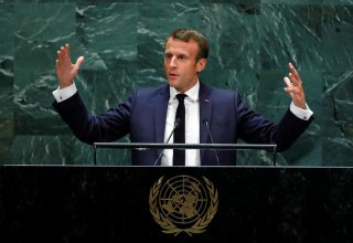 Macron made last-minute bid to get Trump and Rouhani to talk in New York