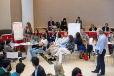PwC Partners from Central & Eastern Europe hold joint session with ADA University students in Baku - Gallery Thumbnail